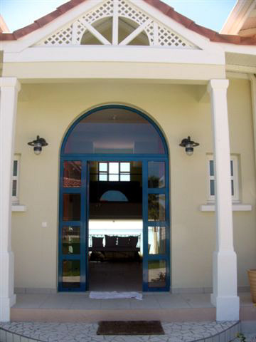 Entree De Villa Photo villa du hamac guadeloupe luxe location